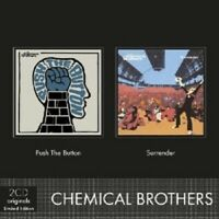 """THE CHEMICAL BROTHERS """"2CD ORIGINALS: PUSH THE BUTTONS/SURRENDER"""" 2 CD NEW"""
