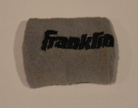 MLB Franklin game used worn wristband! RARE! Guaranteed Authentic!