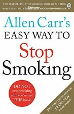 Allen Carr's Easy Way to Stop Smoking: Revised Edition New Paperback Book Allen