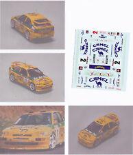 Decals 1/43e Ford Escort Cam..el JM.Ponce Isla Bonita 1993
