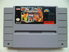 Sports Nintendo SNES Wrestling PAL Video Games