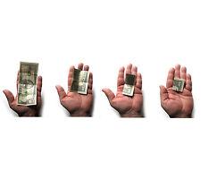 New Haunted Animated Self Folding Dollar Bill Magic Trick Includes $50 Faux Bill