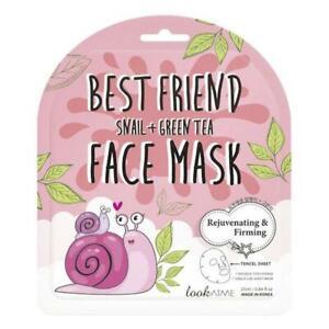 Korean Best Friend Snail + Green Tea Face Mask. 100% ORIGINAL! UK Stock