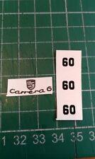 CORGI 371 PORSCHE CARRERA 6 Decal Set uniquement