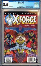 X-Force #116 CGC 8.5 WP 3802360005 1st U-Go Girl, Anarchist & Doop! Newsstand