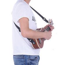 Adjustable Ukulele Strap Belt Black Ukulele Sling For Musical Instrument Guitar