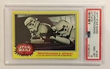 1977 TOPPS STAR WARS TRADING CARD - SERIES 3: YELLOW - #194 STORMTROOPER - PSA 8