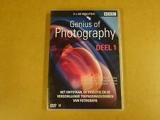 DVD / GENIUS OF PHOTOGRAPHY - DEEL 1 ( BBC )