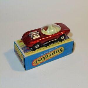 Matchbox Superfast 36 e Draguar Hot Rod Jaguar Superfast with Original Box