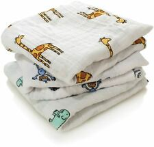 Aden Anais Jungle Jam Cotton Muslin Square Musy (3 Pack)