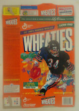 Wheaties Cereal Box, WALTER PAYTON BEARS, Legend's of the NFL