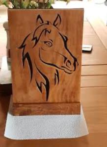 Handmade wooden gift..