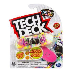 Tech Deck 2021 Fingerboard Pack - Santa Cruz Neon Invasion