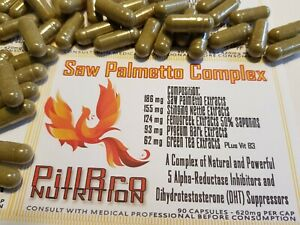 SAW PALMETTO COMPLEX - DHT INHIBITOR - HAIR LOSS - PROSTATE - MADE IN AUSTRALIA