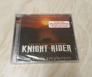STU PHILLIPS - Knight Rider - Complete Original Score (CD) Brand New Sealed