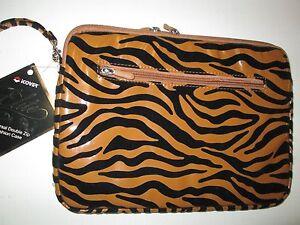"Universal Double Zip Fashion Case by Digicom, 12"", NWT"