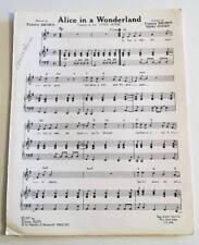 Partition sheet music BO Film TUMUC HUMAC Tommy Brown Micky Jones Dani * 70's