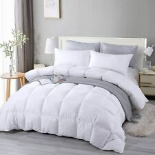 Premium Soft Goose Down Alternative Comforter/Duvet Insert All Season - 2 Colors