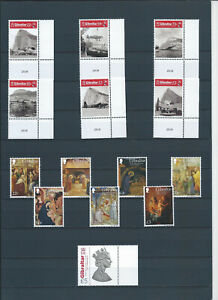 GIBRALTAR LOT OF DIFF SET STAMPS - MNH