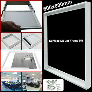 Surface Mount Frame Kit 600x600mm For Flat LED Panel Ceiling Light Lamp LOT