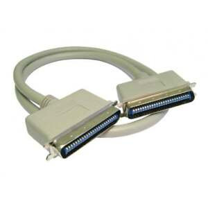 2m SCSI 1 50 Pin Centronics Male to Male Cable Lead