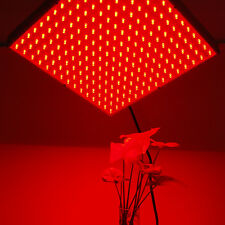 HQRP 660 nm 14W 225 LED Pure Red Grow Light Panel for Growing Flowers Orchids