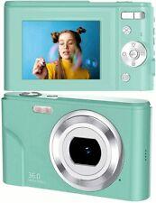 toberto Digital Camera, 1080P HD Vlogging LCD Mini Camera with 16X Zoom 36MP Dig