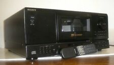 New listing Sony Cdp-Cx153 Compact Disc 100 Cd Changer Player ~ No Remote ~ Needs Repair