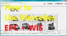 ⭐ Video manual Mercedes Star Diagnosis ⭐ How to work on EPC + WIS russian lang