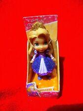 "DIsney Princess Mini Rapunzel Poseable 3"" Doll Sparkle & Glitter Purple Outfit"