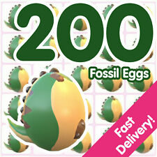 Bundle of 200 Fossil Eggs   Roblox Adopt Me!