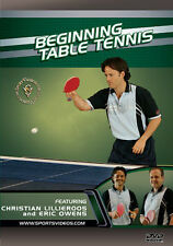 Beginning Table Tennis Instructional DVD - Free Shipping