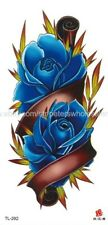 body art tattoos large rose flower temporary tattoo