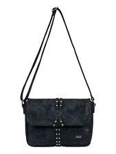 ROXY Womens Bag.meet Me Here Black Faux Leather Shoulder Handbag 7w 63 KVJO