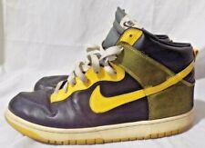 Nike Dunk High North Size 13 Black Varsity Maize Yellow White laces