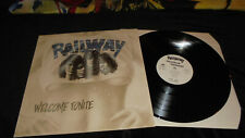 Railway ‎– Welcome Tonite 1993 STEAMHAMMER Mint-/Ex LP vinyl