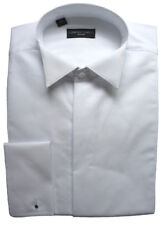 """100% Cotton Fly Front Marcella Wing Collar Shirt 15"""""""