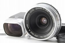 【Rare!】Canon 25mm f/3.5 Rangefinder Lens for Leica L39 Screw w/25mm Finder Y3293