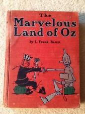 Marvelous land of Oz Frank Baum 1st ed 1st printing B binding 16 colors BRITTON