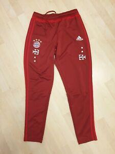 FC Bayern München Original Adidas Trainingshose Teamwear Matchworn Gr. M