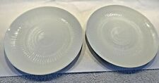 "2 Rosenthal Romance 7-1/2"" Salad Plates White Wiinblad MARTHA STEWART Pedigree"