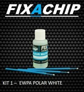 PEUGEOT CAR TOUCH UP PAINT - CODE EWP - POLAR WHITE (KIT 1)