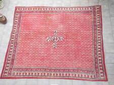 Rare Tapis Tribal en Coton Imprimé , Rajasthan , Inde  vers 1880