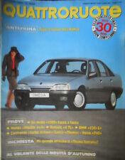 Quattroruote 372 1986 Le novità su Alfa Romeo.Prove Renault4TL Honda Shuttle