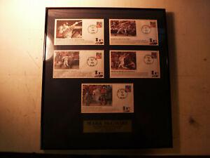 Ken Goldin Mark McGwire Postmarkied Event 88 of 5000 70th HR Cardinals Record
