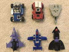 Mini Transformers Lot (Vintage 1984, 1985 and 1988)