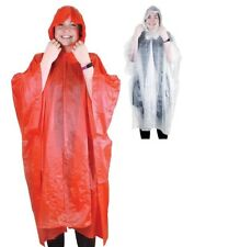 1 x Hooded Poncho Re-Use Festival Camping Outerwear Wedding Fishing Rain Jacket