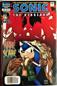SONIC The HEDGEHOG Comic Book #117 February 2003 KNUCKLES Bagged & Boarded NM-