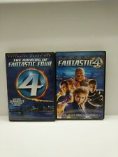 Fantastic Four 4 (DVD 2005) & Making of The Fantastic Four