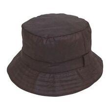 Chapeaux noirs en polyester pour homme